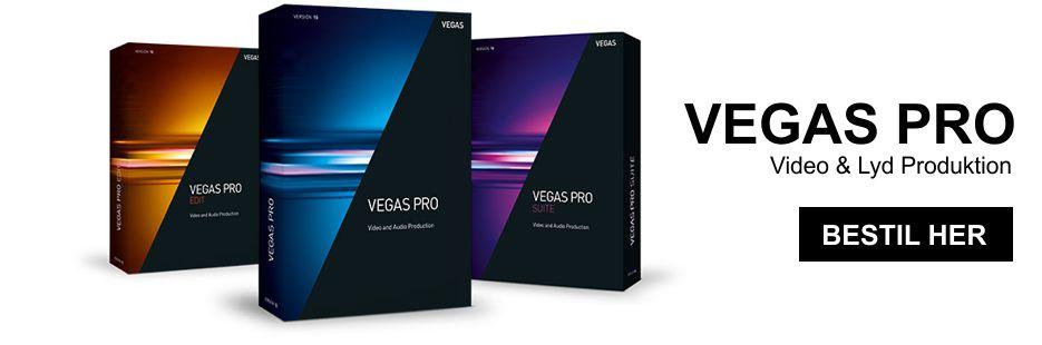 Vegas Pro - Seneste versioner