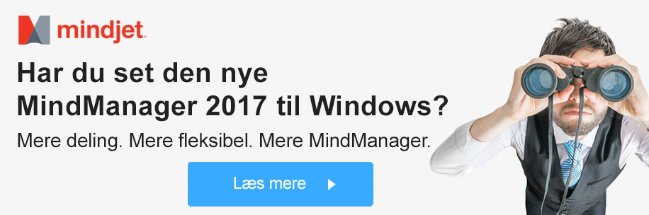 Ny MindManager 2017 til Windows